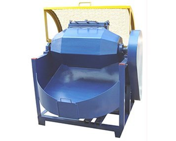 1. Olive shape rotary barrel tumbling machine
