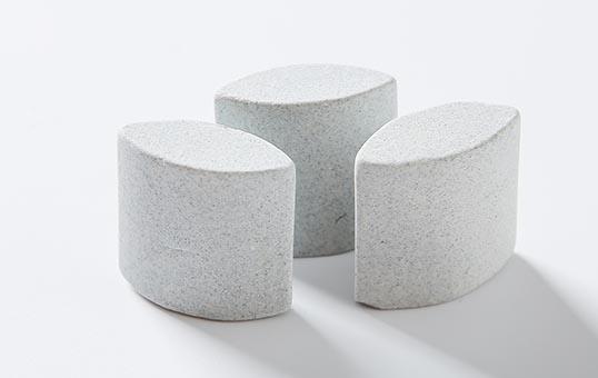 10. Ceramic media ellipse