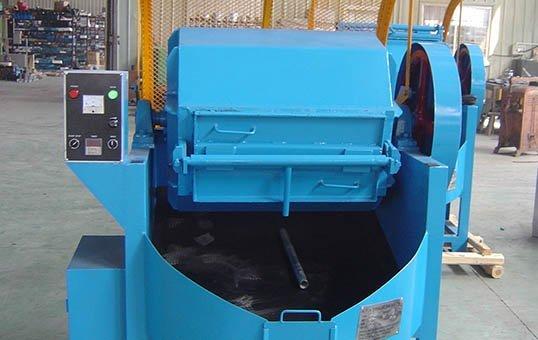 2. Rotary metal parts tumbler