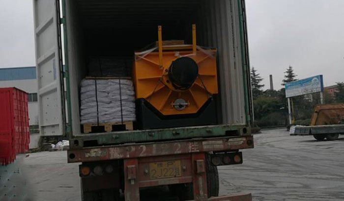 2800 machine container loading