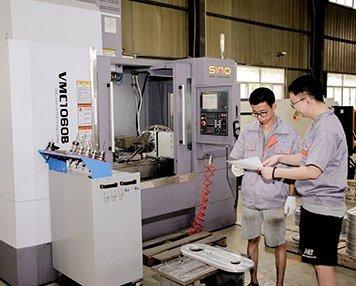 3. CNC component machining