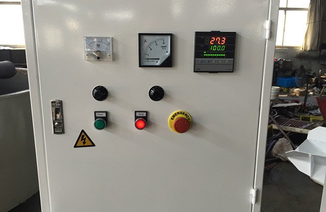 3. vibratory dryer control box