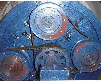 4. Belt drive system