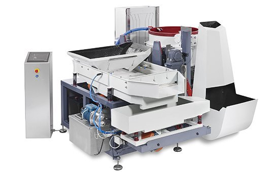 5. Fully automatic centrifugal disc machine