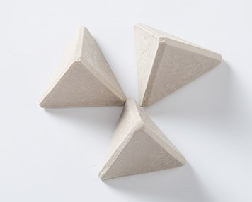 5. Zirconium plastic tumbling media