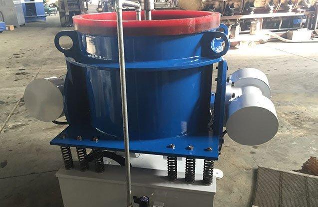 5. titanium wheel vibratory polishing machine