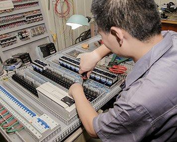 6. Electric control panel