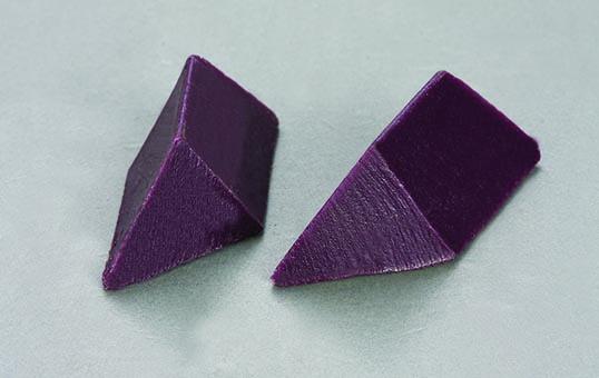 7. Plastic media triangle