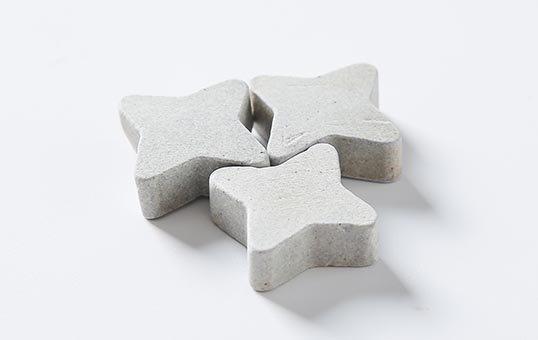 9. Ceramic media star