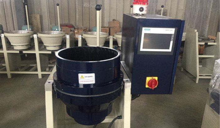 CF20 centrifugal disc finishing machine