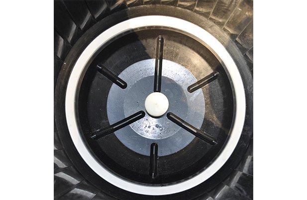 CF50 Zero Gap centrifugal disc finishing machine polishing machine buffing machine details4