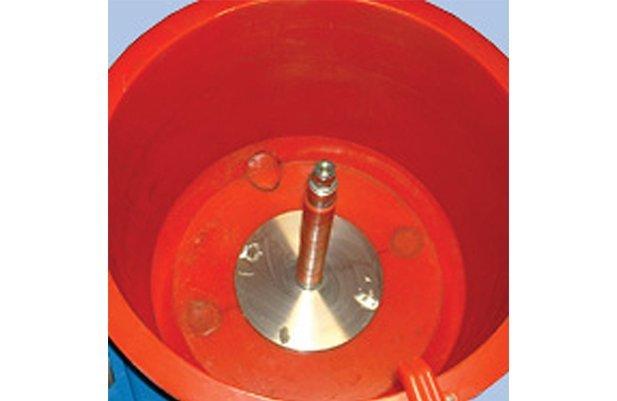Car Wheel vibratory polishing machine buffing machine details5