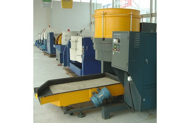 LDG230B Centrifugal disc finishing machine deburring machine polishing machine buffing machine details