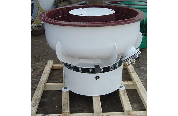 PZGB200 vibratory finishing machine with Straight wall bowl details