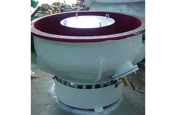 PZGB300 vibratory finishing machine with Straight wall bowl details