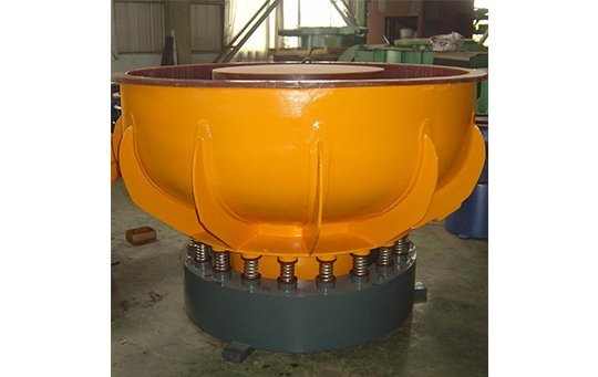 PZG(B)900 vibratory finishing machine with Straight wall bowl