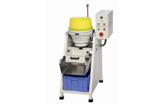 VA20 adjustable small gap centrifugal disc finishing machine wetdry deburring machine polishing machine buffing machine details