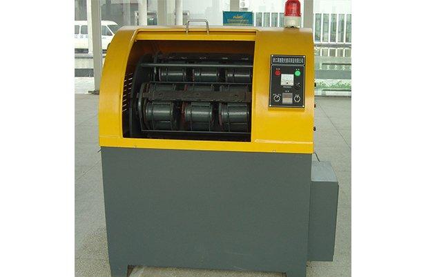 XGP40 Centrifugal barrel finishing machine with 48 small barrel design polishing machine buffing machine details
