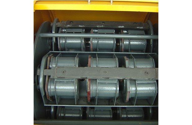 XGP40 Centrifugal barrel finishing machine with 48 small barrel design polishing machine buffing machine details3