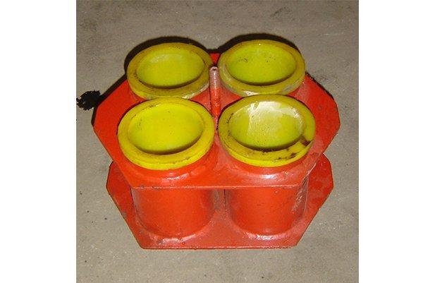 XGP40 Centrifugal barrel finishing machine with 48 small barrel design polishing machine buffing machine details6