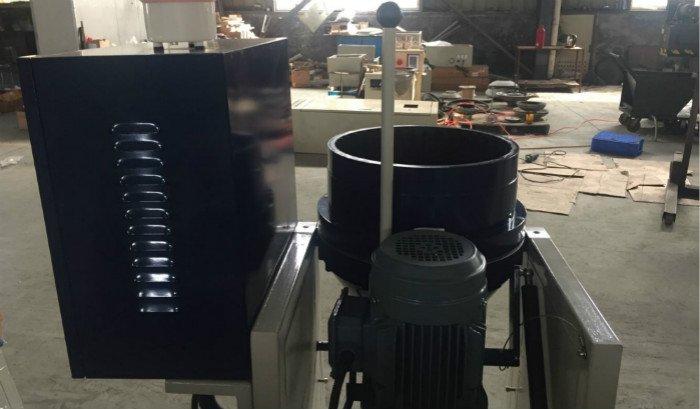 backside centrifugal disc finisher CF20