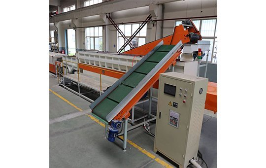 casting components deburring and polishing linear continuous vibratory finishing machine ltg6500