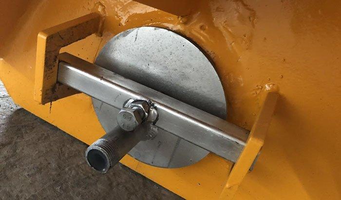 media discharge 2800 liter machine