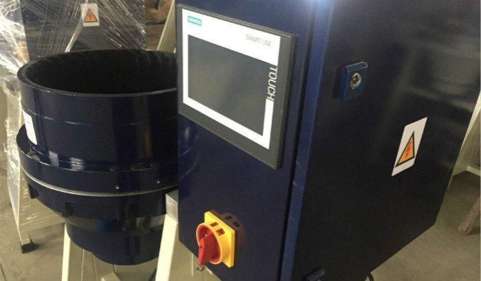 side CF20 centrifugal disc finishing machine
