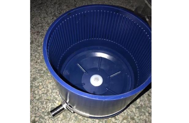 Otec centrifugal disc finishing machine wet barrel eco maxi
