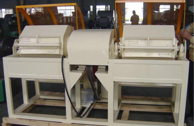 double barrel polisher