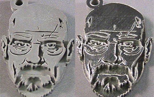 3D Metal Part polishing 3D Artwork