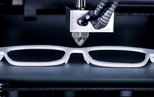 3d printed eyeglass frame smoothing and polishing