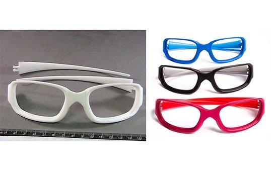 Additive Manufactured Eyeglasses 3D Post Processing, Polishing & Dying Nylon