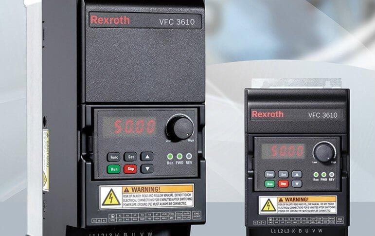 Bosch Rexroth variable speed converter VFC 3610