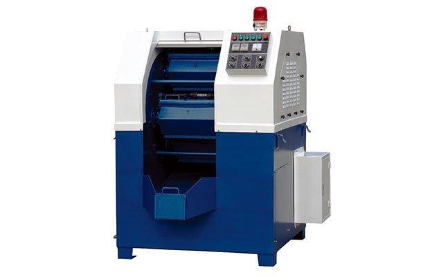 Centrifugal barrel finishing machine for metal polishing