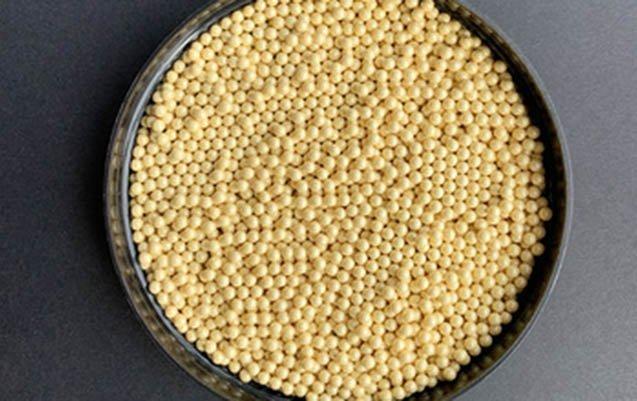 Ceria stablized zirconia beads