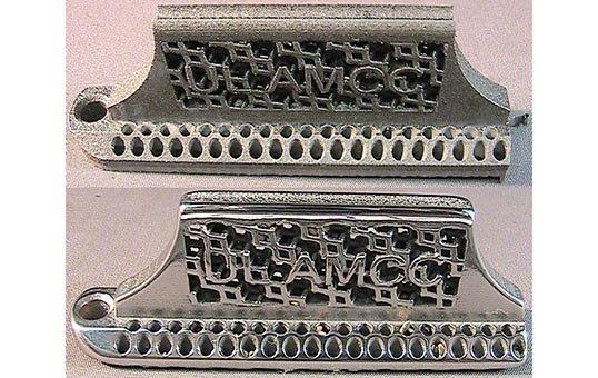 Metal Finish 3D Parts AMCC Test Coupon