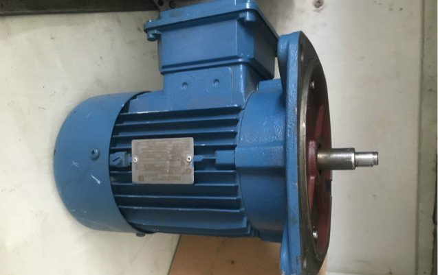 Nord Motor for centrifugal disc machine