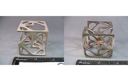 Post Process Polish 3D printed art