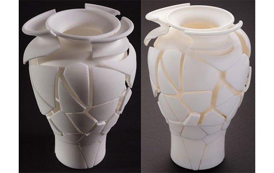 Post Process Polishing 3D Printed Consumer Art