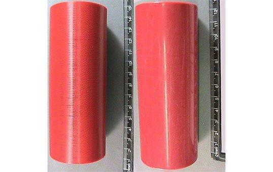 Post Process Polishing of ASA AM plastics