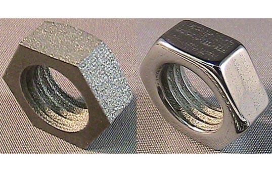 Post Processing DMLS Parts 3D AM Aerospace Part