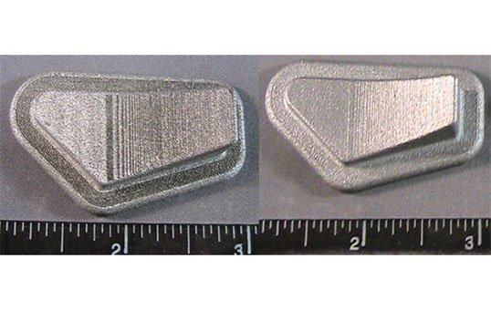 Surface Finishing Test Coupon 3d metal printing industry
