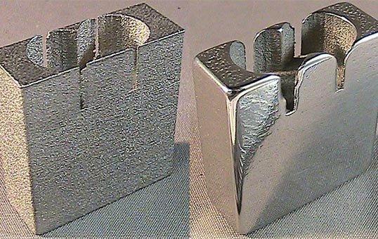 Surface Reduction 3D AM Test Coupon