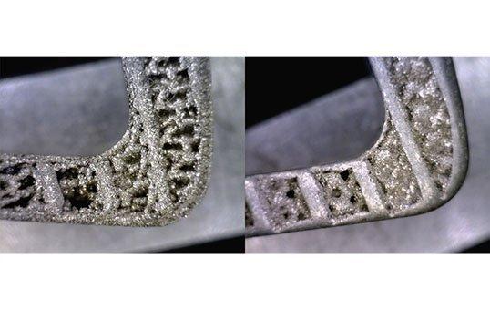 Surface improvement of mesh