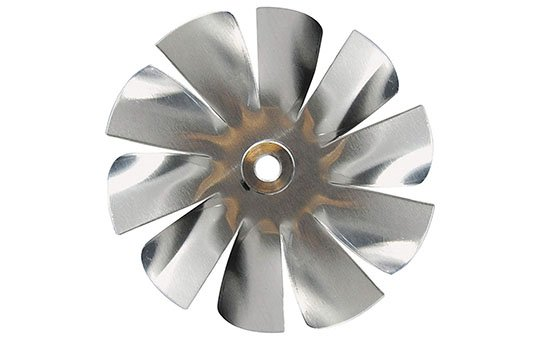 aluminum fan blade and propeller