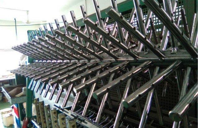 big rotary wood polishing machine clapm design