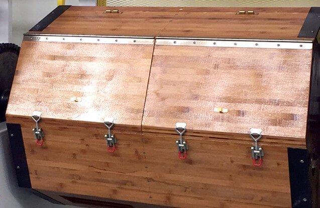big rotary wood polishing machine details 1
