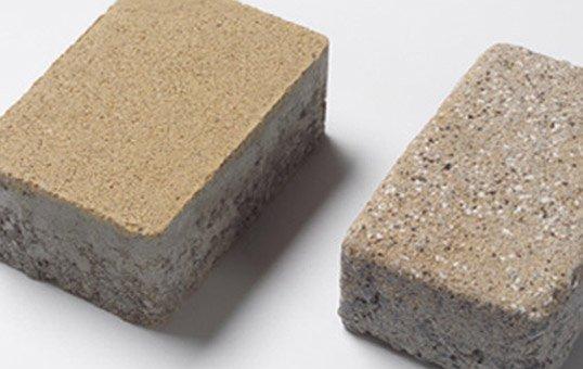 concrete paving stones fast vibratory ageing
