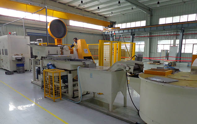 fully automatic Centrifugal disc finishing machine